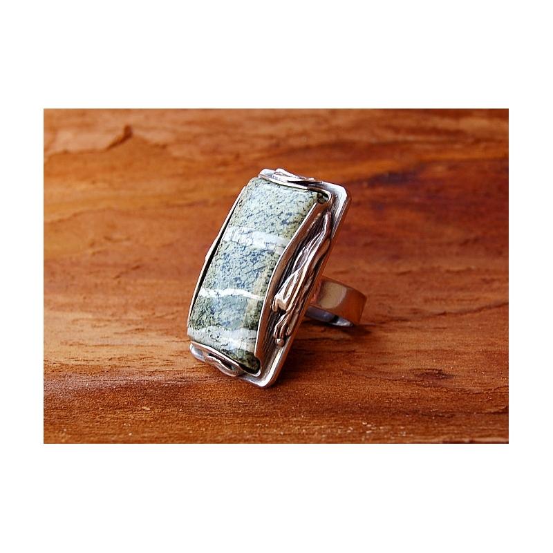 2035 Vienetinis Sidabrinis žiedas Ag 925