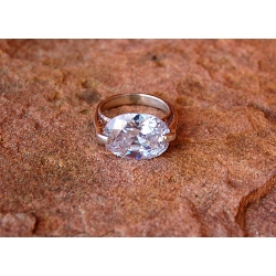Sidabrinis žiedas su Cirkoniu i.m Ag 925