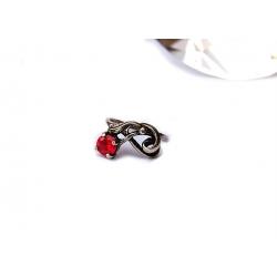 2667 Sidabrinis žiedas su Cirkoniu Ag 925