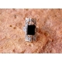 Sidabrinis žiedas su Oniksu i.m Ag 925