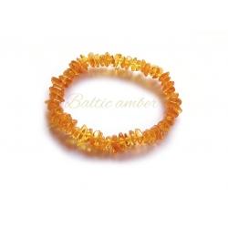 """Baltic amber bracelet """"Honey"""""""