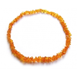 """Baltic amber necklace """"Honey"""""""