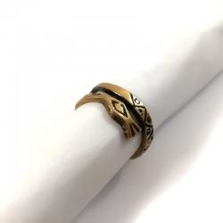2735 Žalvarinis žiedas