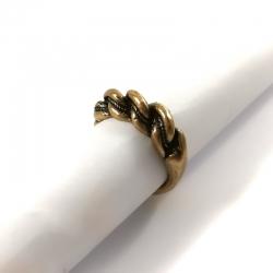 Žalvarinis žiedas su
