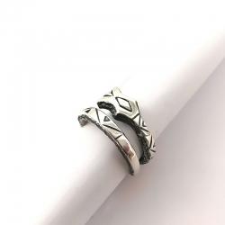 """2796 Sidabrinis žiedas su """"Žalčiu"""" Ag 925"""