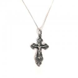 Sidabrinis Kryželis Amuletas
