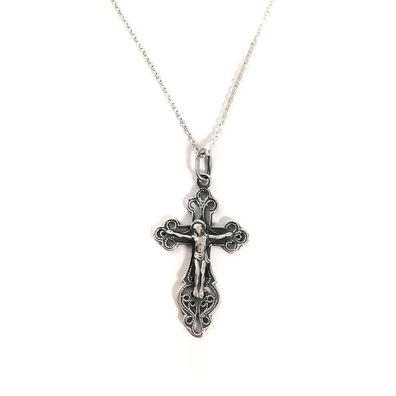 Sidabrinis Kryželis Amuletas [KK03]