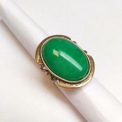 2818 Žalvarinis žiedas su Agatu