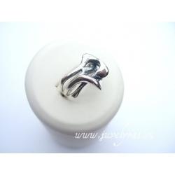 445 Sidabrinis žiedas Ag 925