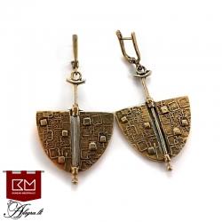 785 Brass earrings