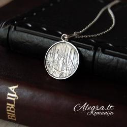 Silver pendant [KM17] [Pakabukas, grandinėlė]