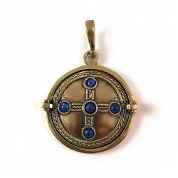 """2281 Brass pendant """"Kabutis"""""""