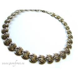 586 Brass necklace