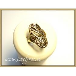 590 Žalvariniai žiedas
