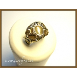 593 Žalvariniai žiedas