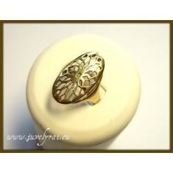 594 Žalvariniai žiedas